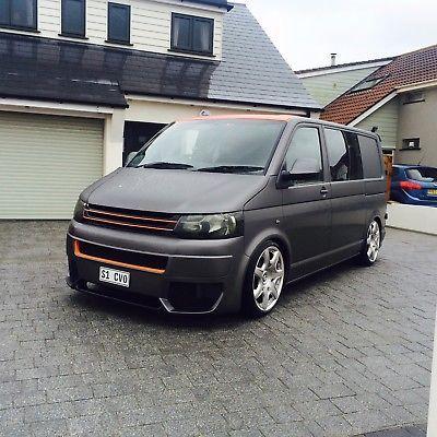 eBay: Volkswagen t5 camper day van VW one off, fast van #vwcamper #vwbus #vw