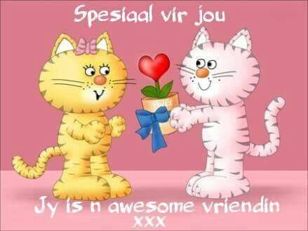 Awesome vriendin