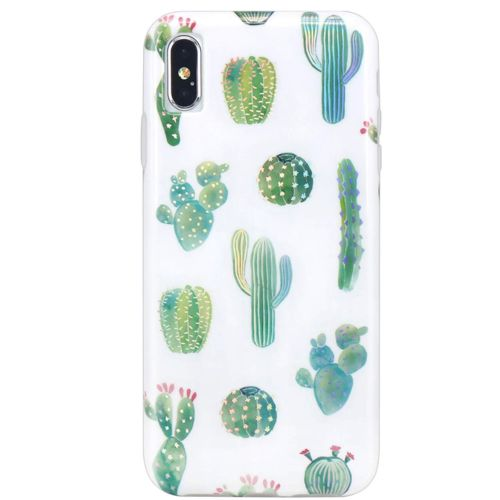 This cute phone case with holo cactus for iPhone i…