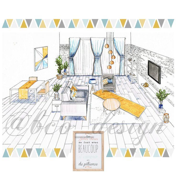 71 best salon bleu pastel jaune moutarde images on