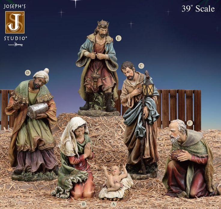 "39"" Joseph's Studio Nativity Set"
