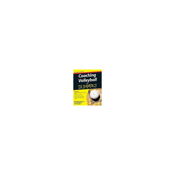 Coaching Volleyball for Dummies (Paperback)