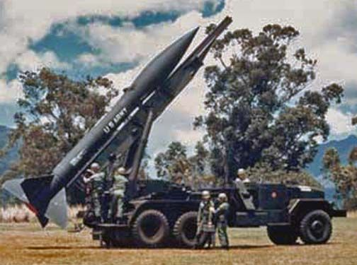 M-386 Truck, Chassis, 6x6,(M39 series) Honest John missile launcher