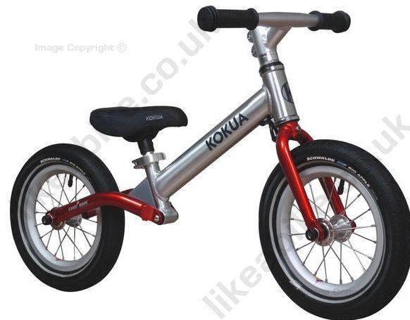 Balance bike with suspension
