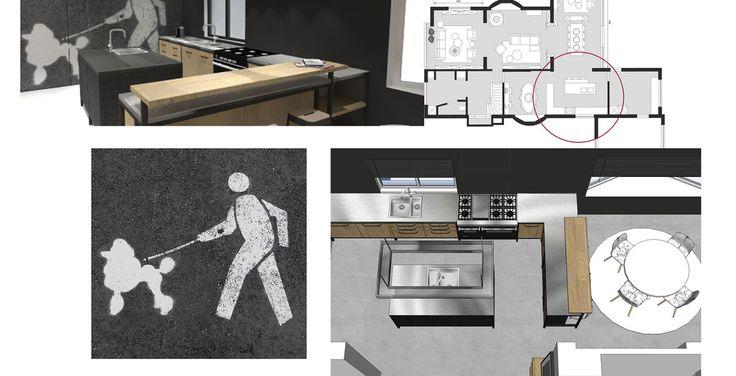 In samenwerking met een interieurarchitect en aannemer heeft Jeanne van de Meulengraaf het interieurontwerp voor dit particuliere herenhuis in Helmond middels schetsen ontworpen. Het huis is in de jaren 30 stijl gebouwd, het interieur is een combinatie van de jaren 30 stijl, gemengd met een eigentijdse touch. Er is veel met eerlijke materialen gewerkt in deze totaalinrichting. #jmstyle #netherlands #eindhoven #humor #interior #interiordesign #interieur #interieurontwerp #interiorstyling…