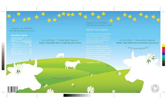 | CASE | ☆ Whole Milk ☆ | Milk-box. Illustration - Poster - Website - Flash - Folder |