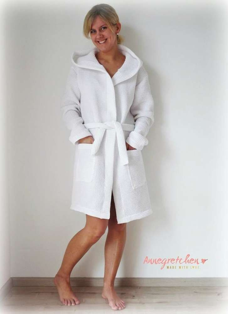 Schnittmuster /Ebook lillesol women No.16 Bademantel / Nähen Morgenmantel / Sewing pattern bathrobe