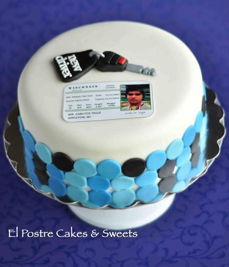 Car Key Cake! Www.facebook.com/elpostrecakes