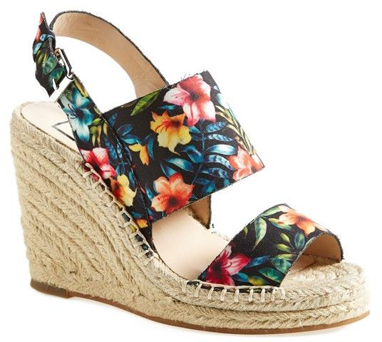Shoe of the Day - Dancing in my heels DV by Dolce Vita Shady Wedge Sandals