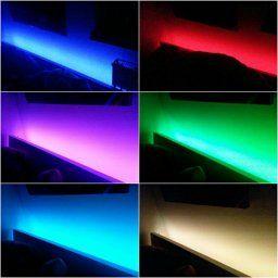 LED Strip Licht Streifen 5m Band Leiste mit 300 LEDs (SMD 3528) inkl. Netzteil & Fernbedienung: Amazon.de: Beleuchtung