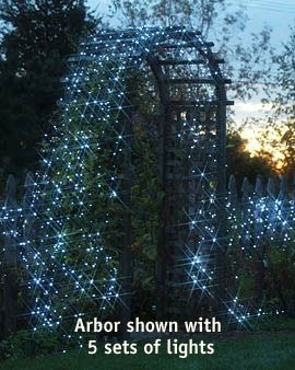 Wouldn't it be cool to have these tiny solar lights twinkling throughout the back yard every night?
