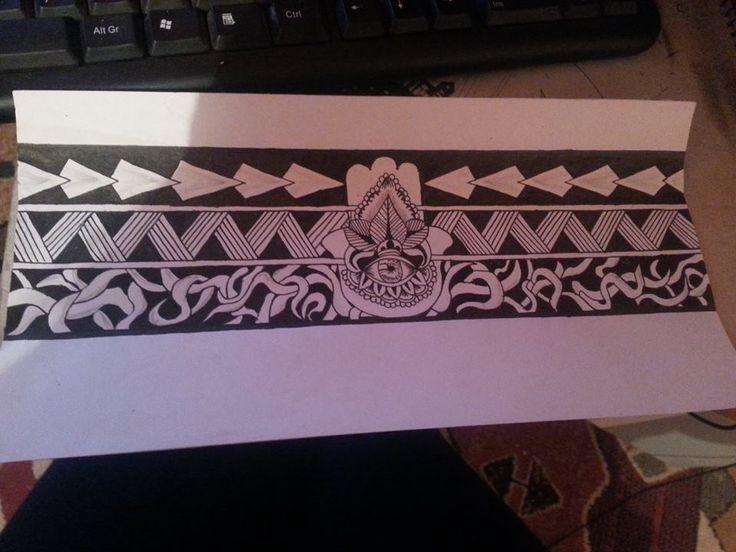 Brazalete Maoríe solo un diseño