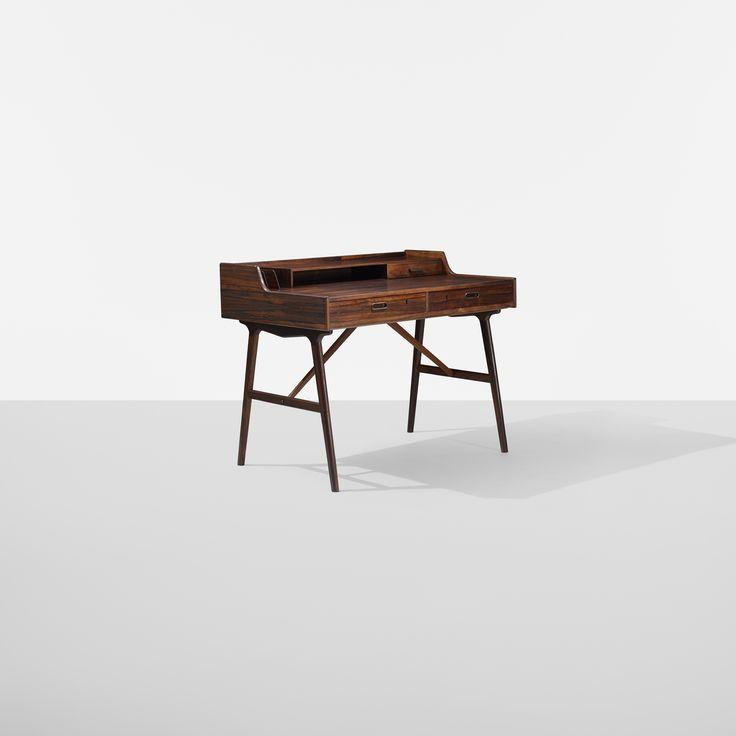 Arne Wahl Iversen desk for Vinde Møbelfabrik. #Midcenturymagazine #Danish
