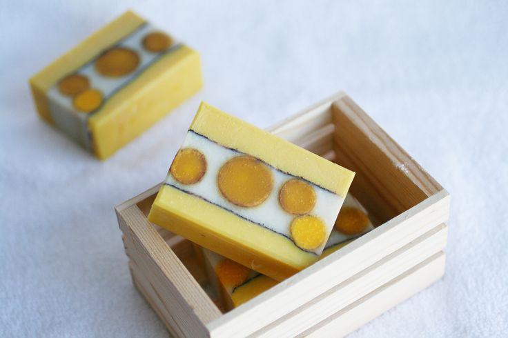 Honeysuckle Soap - One Leaf Soap-Natural Handmade Soaps
