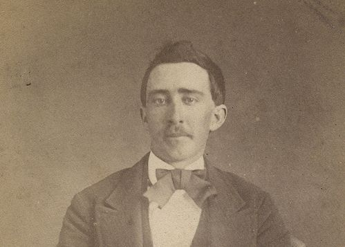 """An eBay seller has this photograph up for the """"buy it now"""" price of a million dollars. It looks suspiciously like the star of Raising Arizona and Leaving Las Vegas.        Original c.1870 carte de visite showing a man who looks exactly like      Nick Cage. Personally, I believe it's him and that he is some sort of      walking undead / vampire, et cetera, who quickens / reinvents      himself once every 75 years or so. 150 years from now, he might      be a politician, the leader of a cult…"""