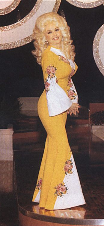 Dolly Parton, 70s, fashion