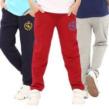 Crianças calças de algodão marca roupa das crianças bonito dos desenhos animados calças esportivas casuais longo calças do bebê comprimento meninos miúdos grandes roupas para meninos(China (Mainland))