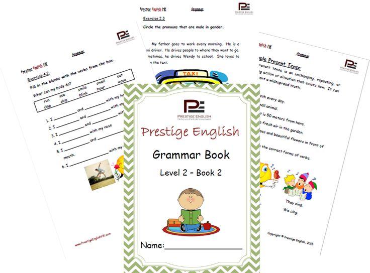 English Grammar Book – Level 2 – Book 2