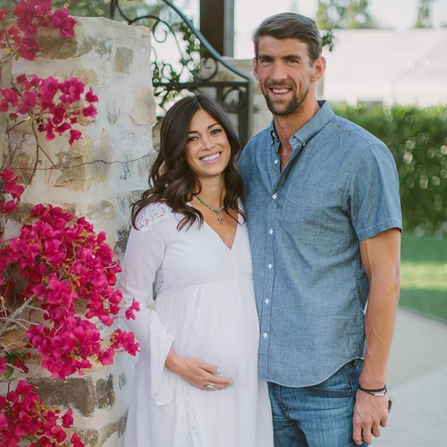 Pin for Later: Michael Phelps and Nicole Johnson Are So Cute They Deserve a Gold Medal