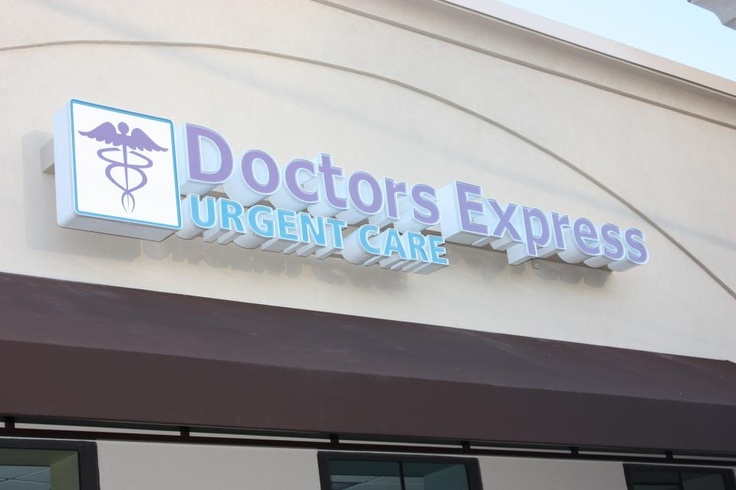 Our Doctors Express logo.. Urgent Care When You Need It