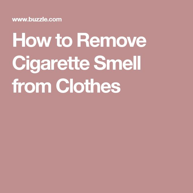 How to remove cigarette smell from clothes 28 images for How to get makeup out of white shirt