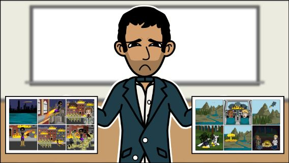 Storyboard That's storyboard creator makes amazing graphic organizers for digital storytelling! The software is perfect as a comic strip maker too! Try today!