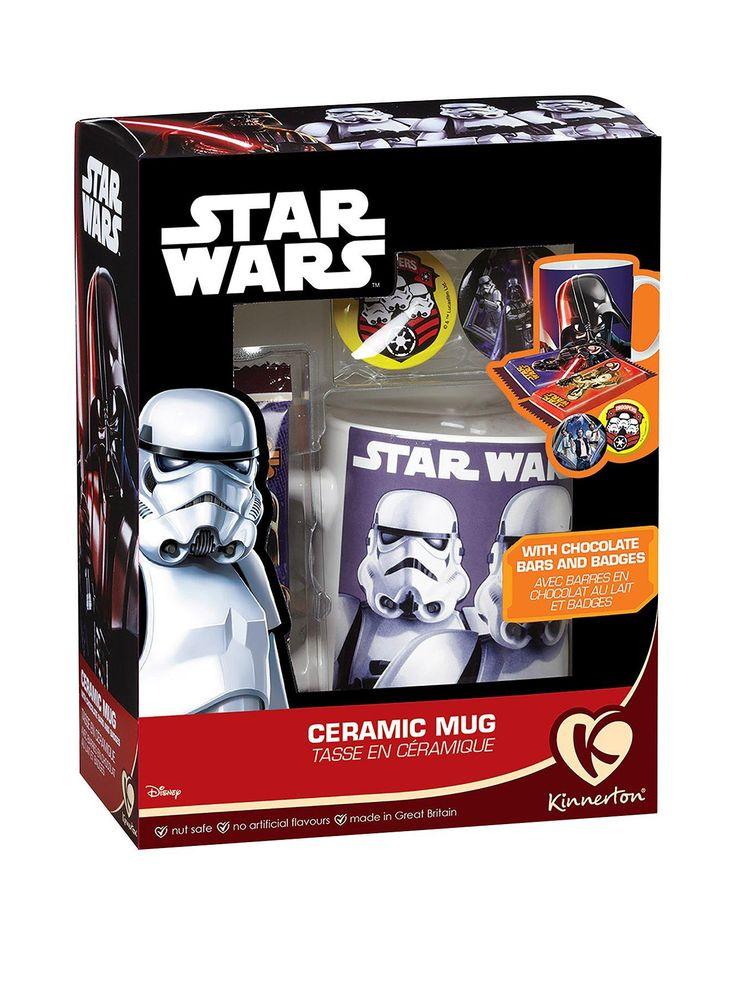 Star Wars Mug & Chocolate Gift Set   very.co.uk