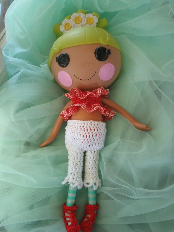 Lalaloopsy Handmade Crochet Set to fit Big by AuntySandysKrafts