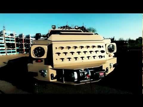 GURKHA LAPV armored vehicle seen in F5