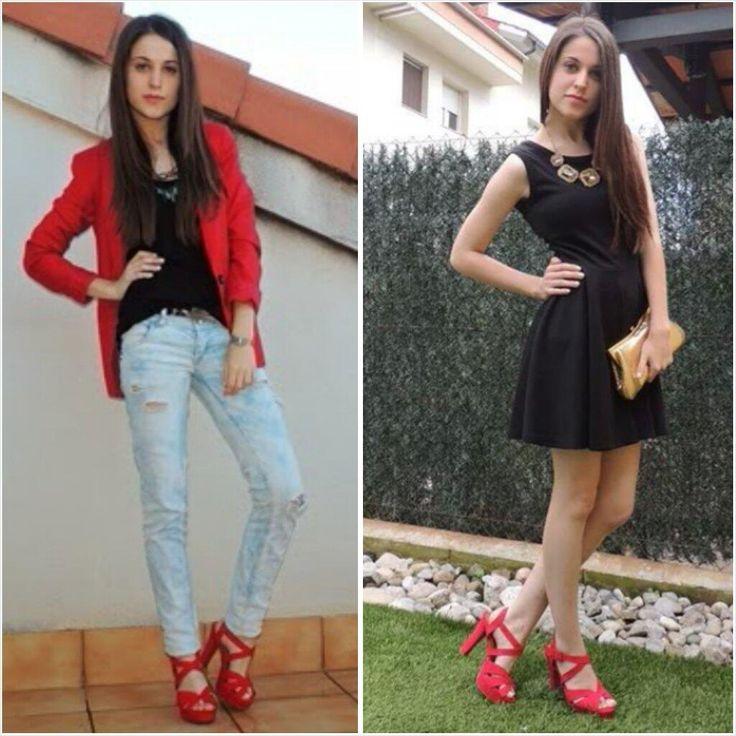 """@regandomicactus: Mismos #zapatos, dos #outfits diferentes. ¿Con cual os quedais? :) Zapatos @Marypaz Hernandez Shoes pic.twitter.com/X5U3LBA4Gz""el 2;"