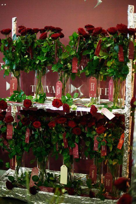 Nuestras rosas Red Naomi esperando a los invitados a los Premios Telva Moda 2014  #Bourguignonflor #Rosas #RedNaomi #PortaNova
