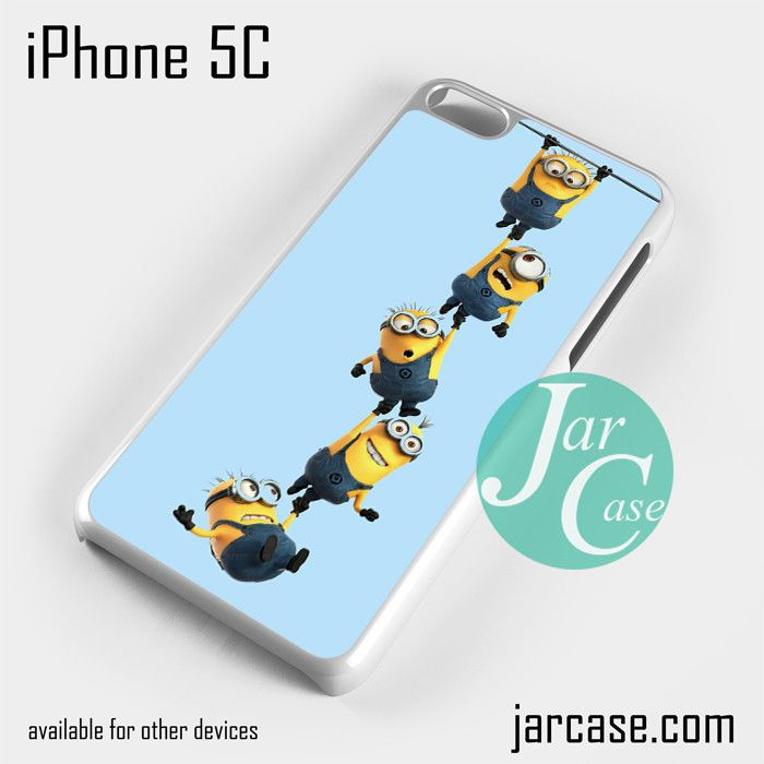 Minions (5) Phone case for iPhone 5C and other iPhone devices