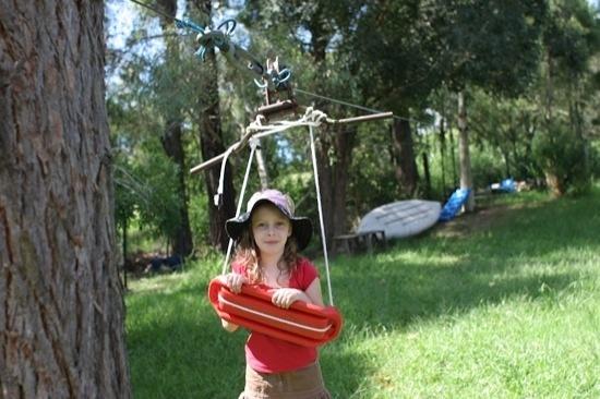 DIY backyard zipline best-boys | Kiddos | Pinterest ...