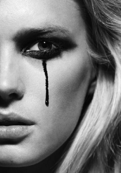 F/X makeup inspiration #spadelic #makeup #editorial
