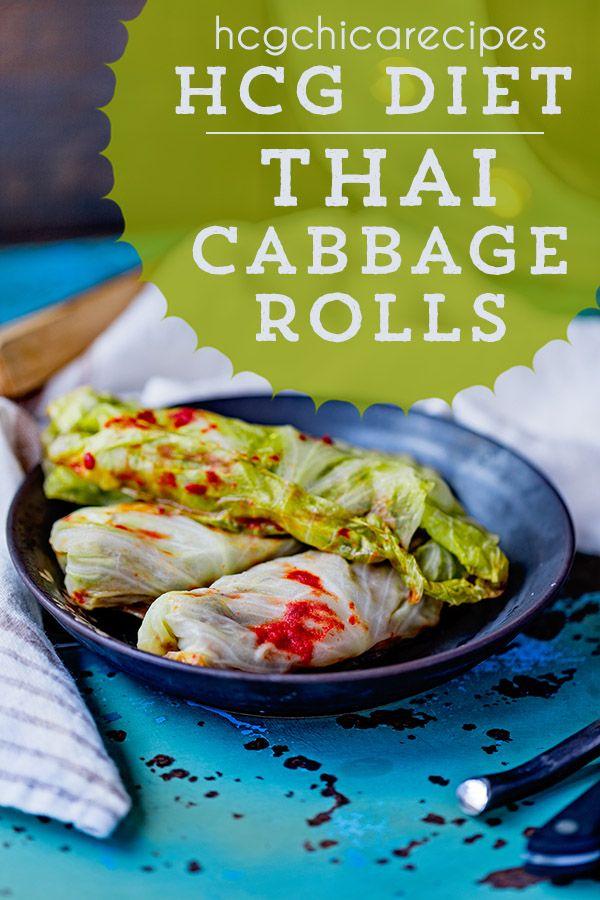 P2 Hcg Recipes Thai Stuffed Baked Cabbage Rolls Lsp Sp Ap