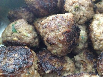 Hermie the Thermie ... beef 'with hidden vegetables' meatballs
