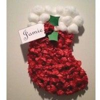 Tissue Paper Stocking - Kids Craft