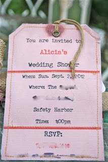 Travel Themed Wedding Shower