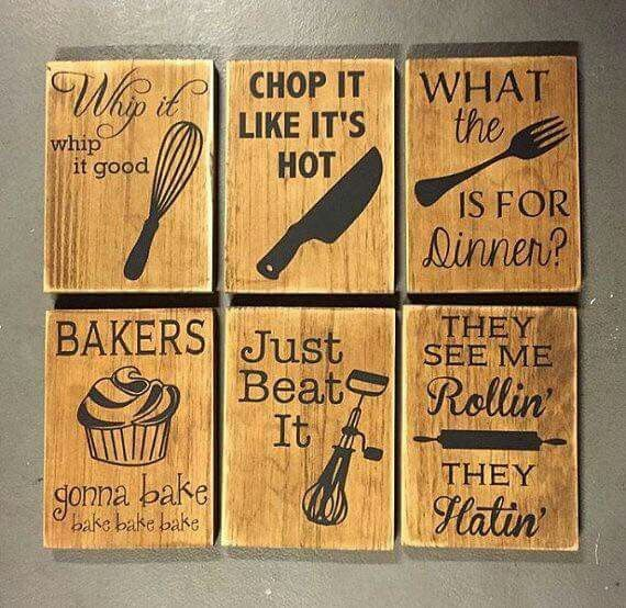 Cute Wall Decor For Kitchen : Best ideas about kitchen sayings on