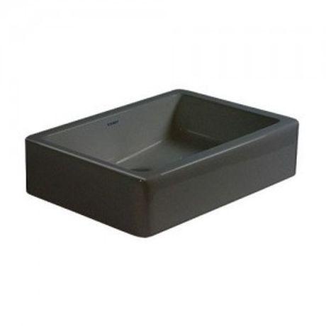 Umywalka DURAVIT VERO 50x38cm czarna 0455500800umywalka bez otworu na baterię.