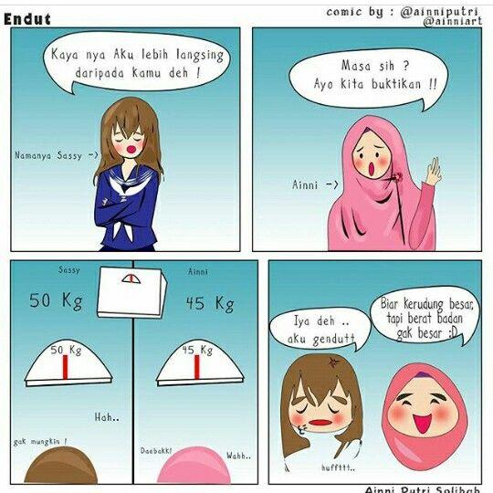 28 Besten Komik Muslimah Bilder Auf Pinterest