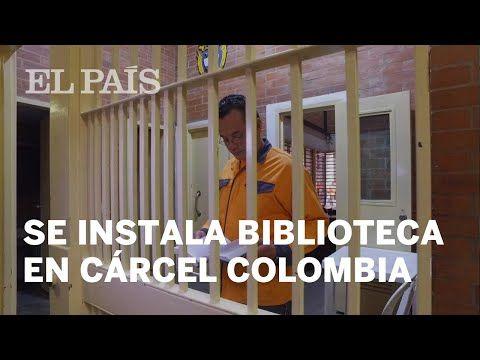 Una cárcel en Colombia instala biblioteca en vieja bodega | Colombia - YouTube