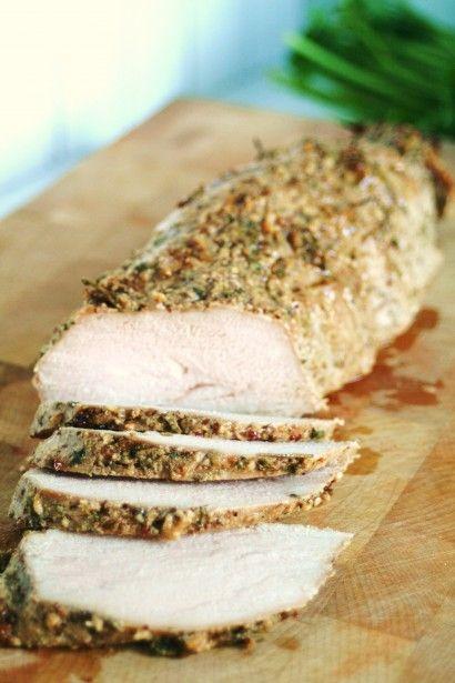 Herb Dijon Crusted Pork Tenderloin   Tasty Kitchen: A Happy Recipe Community!