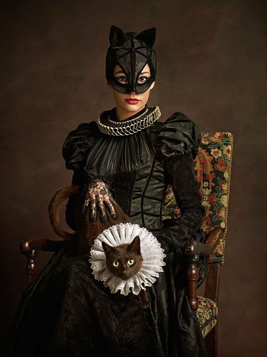 Superheroes and Supervillains Rendered as Flemish Paintings | Hint Fashion Magazine