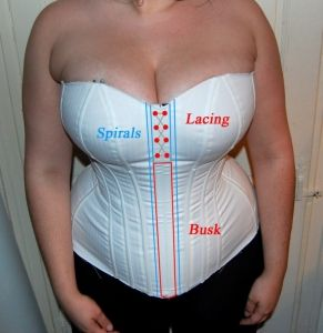 Great post on corset making and pattern alterations in relation to large cup sizes