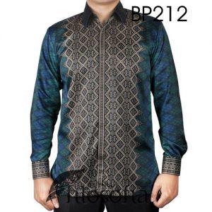 Kemeja Batik Semi Sutra dengan Kode BP212