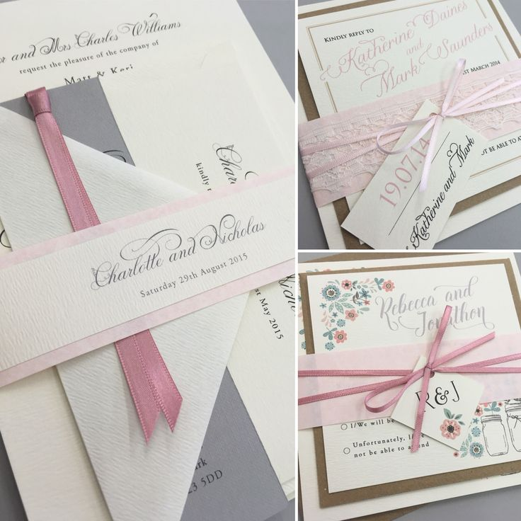 custom wedding invitations nashville%0A Pink wedding invitations  Beautiful wedding stationery lovingly made and  designed in the UK  All stationery is fully customisable with your wording  and