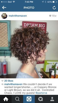 types of bob haircuts 15 best shag haircut curly images on curls 1625 | 82825fda172b16e41dc1625eeafc75df a line curly bob curly haircuts