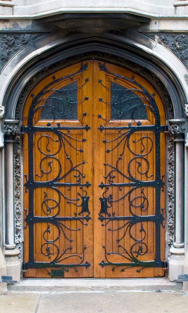 Pittsburg, First Presbyterian Church door