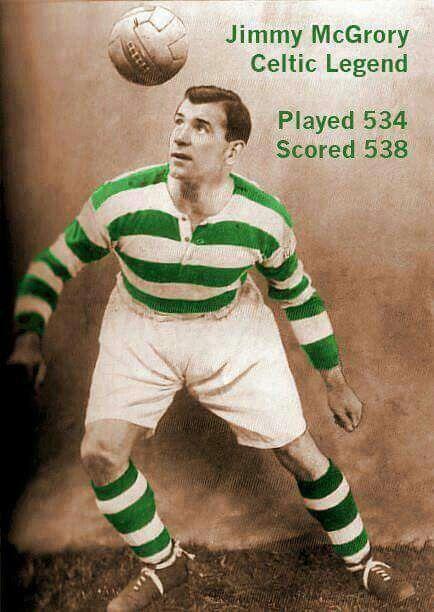 Jimmy McGrory. Celtics highest ever goalscorer. Even Henrik Larsson didn't get that many.